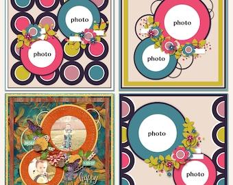 Circlicious Digital Scrapbooking Templates