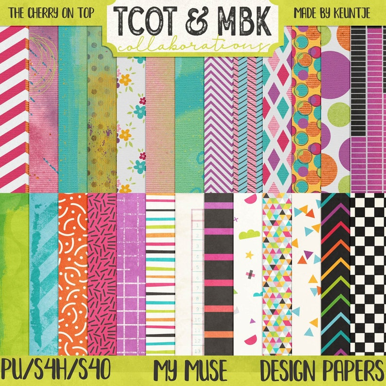 My Muse Digital Papers image 0