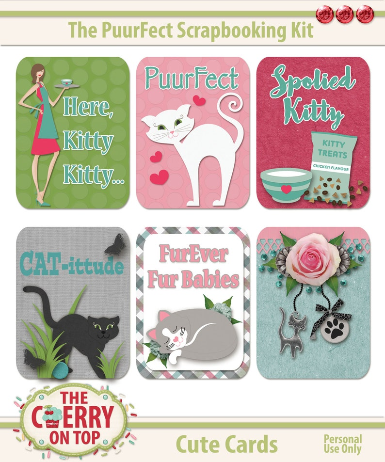 The PuurFect Kit Cute Cards image 0