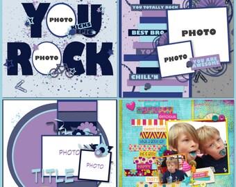 You Rock Digital Templates