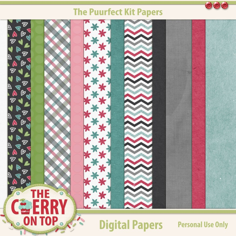 The PuurFect kit Papers image 0