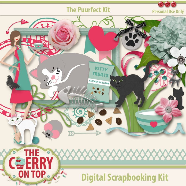 The PuurFect Kit Scrapbooking Elements image 0