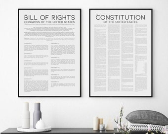photo regarding Printable Bill of Rights identify Monthly bill of legal rights Etsy