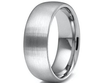 Oidea Anello Celtico Irlandese Fidanzamento Matrimonio Nuziale Acciaio Inossidabile Uomo argento,Misura da Scelta