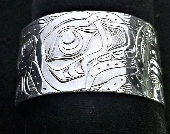 Namgis Sterling Silver Octopus West Coast First Nation Indian Art Jewelry