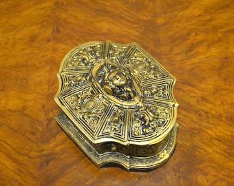 Decorative Solid Brass Box