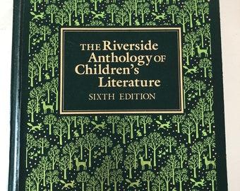 Riverside Anthology of Children's Literature - 1985 6th edition