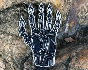 Hand of Glory Enamel Pin