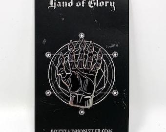 Hand of Glory Horror Hard Enamel Pin