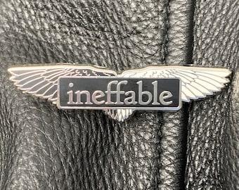 Ineffable Hard Enamel Collectable Pin