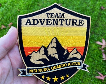 Team Adventure Embroidered Patch