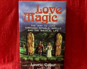 Laurie Cabot's Love Magic book, Hard Cover, First edition, signed by Laurie Cabot