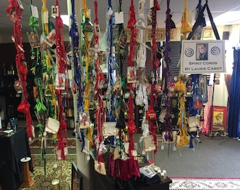 Spirit Cords by Laurie Cabot, inspired on the Orishas and their Saints