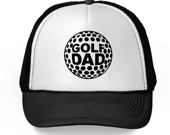 Golf Dad Trucker Hat Golfing Dad Golf Gifts for Dad Golf Cap for Dad  Father s Day 2018 Dad Accessories Golf Ball Hat Cool Sports Dad Hat ed4159c3e254