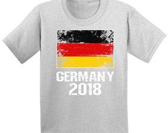 Youth Germany Shirt 2018. Germany Soccer T Shirts. Germany 2018 9ec94797f