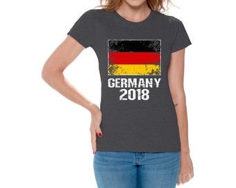 Germany Shirt 2018. Women s Germany Soccer Shirts. Germany 2018 a5819fe40
