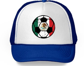 hot sales b688e 64f1f Mexico Soccer Ball Hat Mexico Soccer Trucker Hat Gifts from Mexico Mexican  Baseball Hats Mexico Football Hat for Men and Women Mexican Gifts