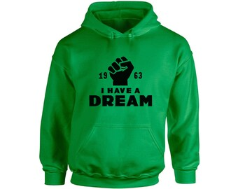 The Legacy Collection Martin Luther King Jr Silence Unisex Pullover Hoodie