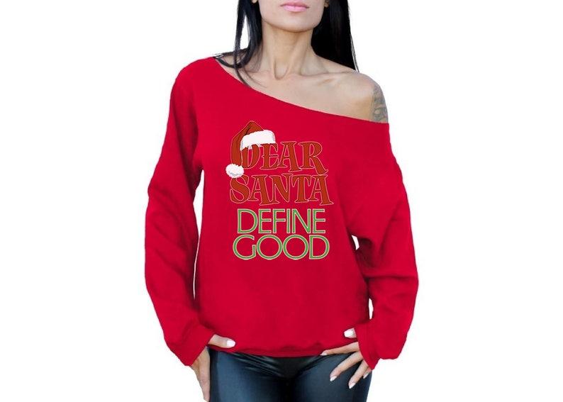 dac0a714fd Santa define dobrze brzydki barki Drodzy Świętego Mikołaja