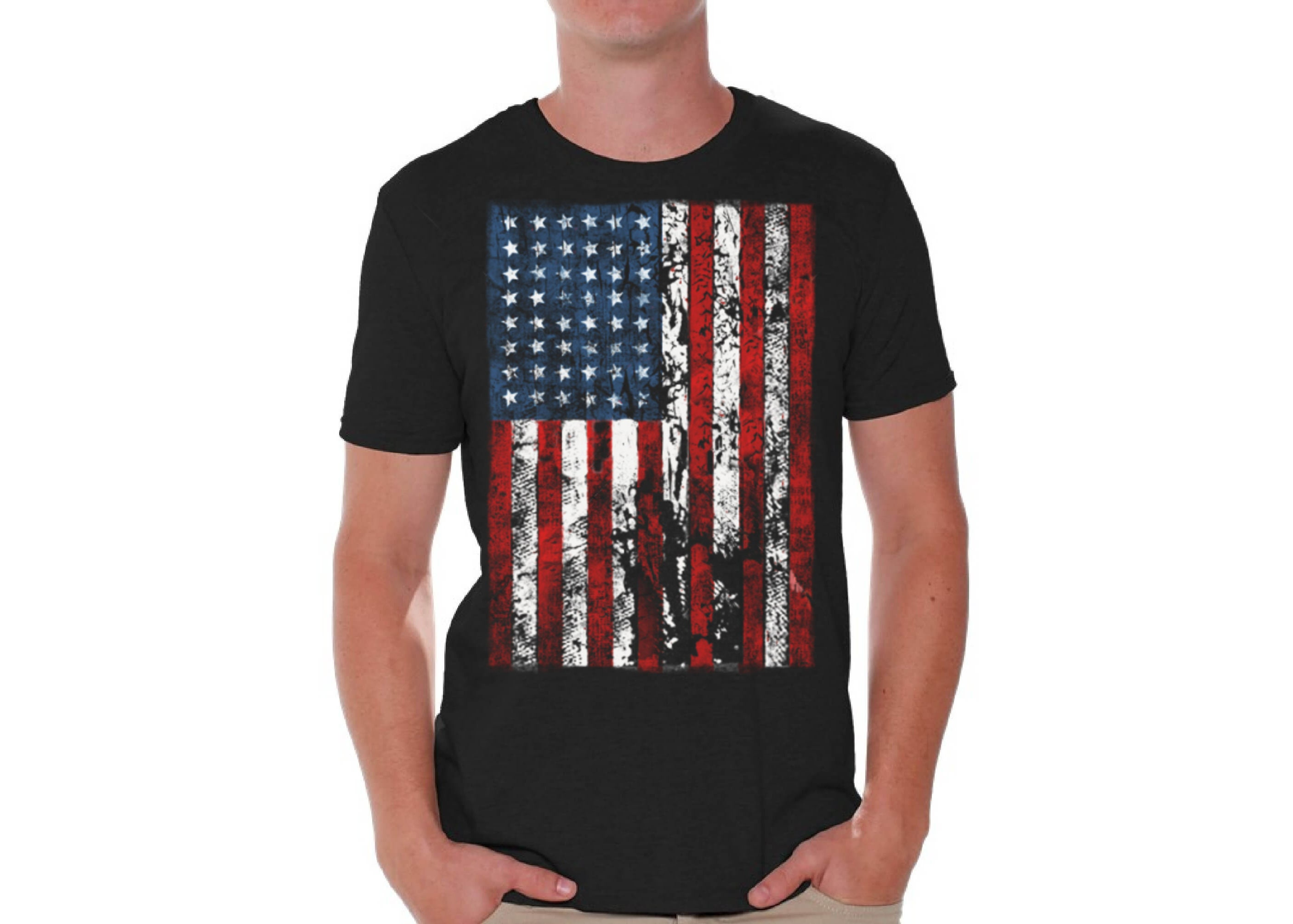 a498ff4a3 American Flag Shirt. America Shirts for Men. America T-Shirt. | Etsy