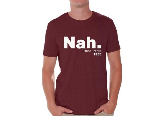 Nah Rosa Parks Quote Funny Pride Resist Love Black Crewneck Sweatshirt