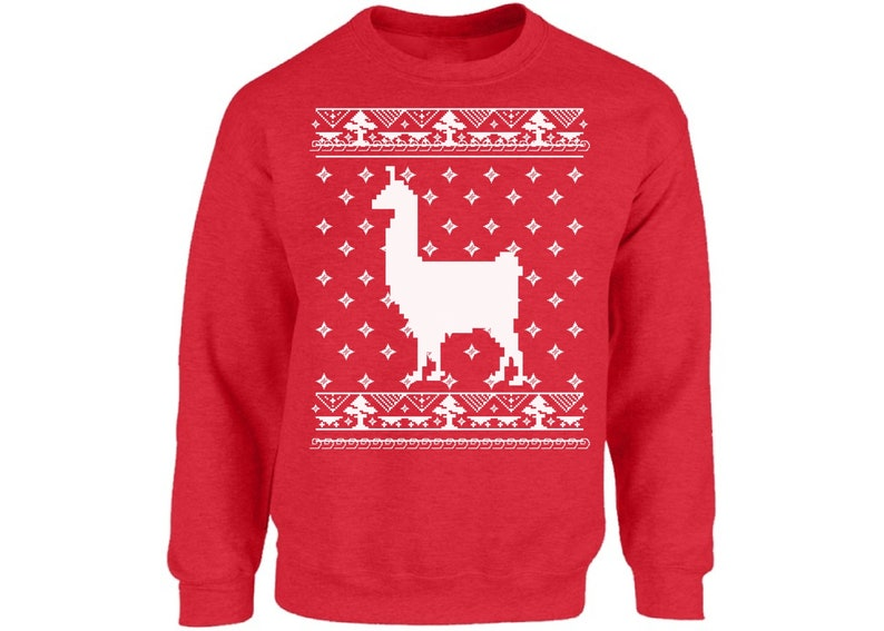 Llama Christmas Sweater.Ugly Christmas Sweater Llama Christmas Sweater Funny Christmas Gifts