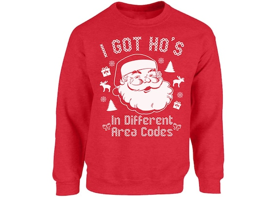 I Got Hos In Different Area Codes Sweatshirt Ugly Christmas Etsy