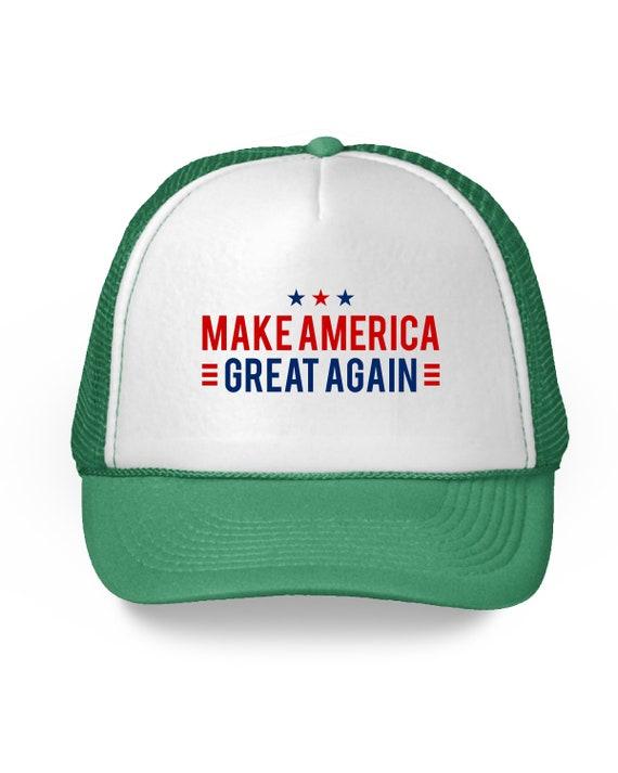 14842c09fb9 Make America Great Again Hat. MAGA Trump 2020 Baseball Caps.