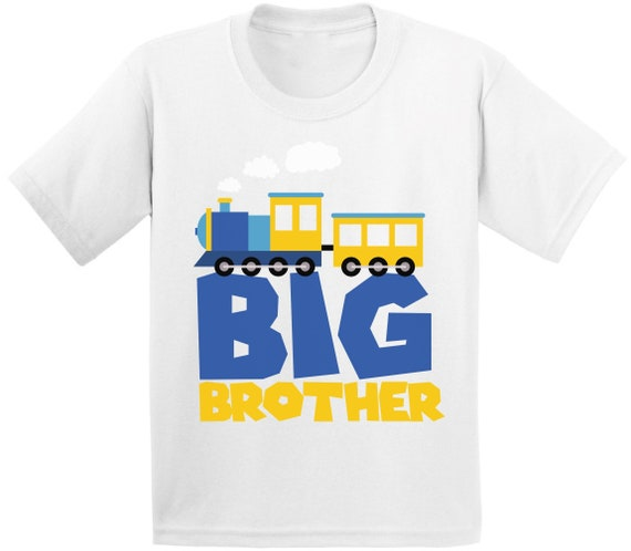big brother train shirt Big Brother announcement shirt Train Shirt Train Big Brother Shirt I/'m going to be a BIG BROTHER Shirt