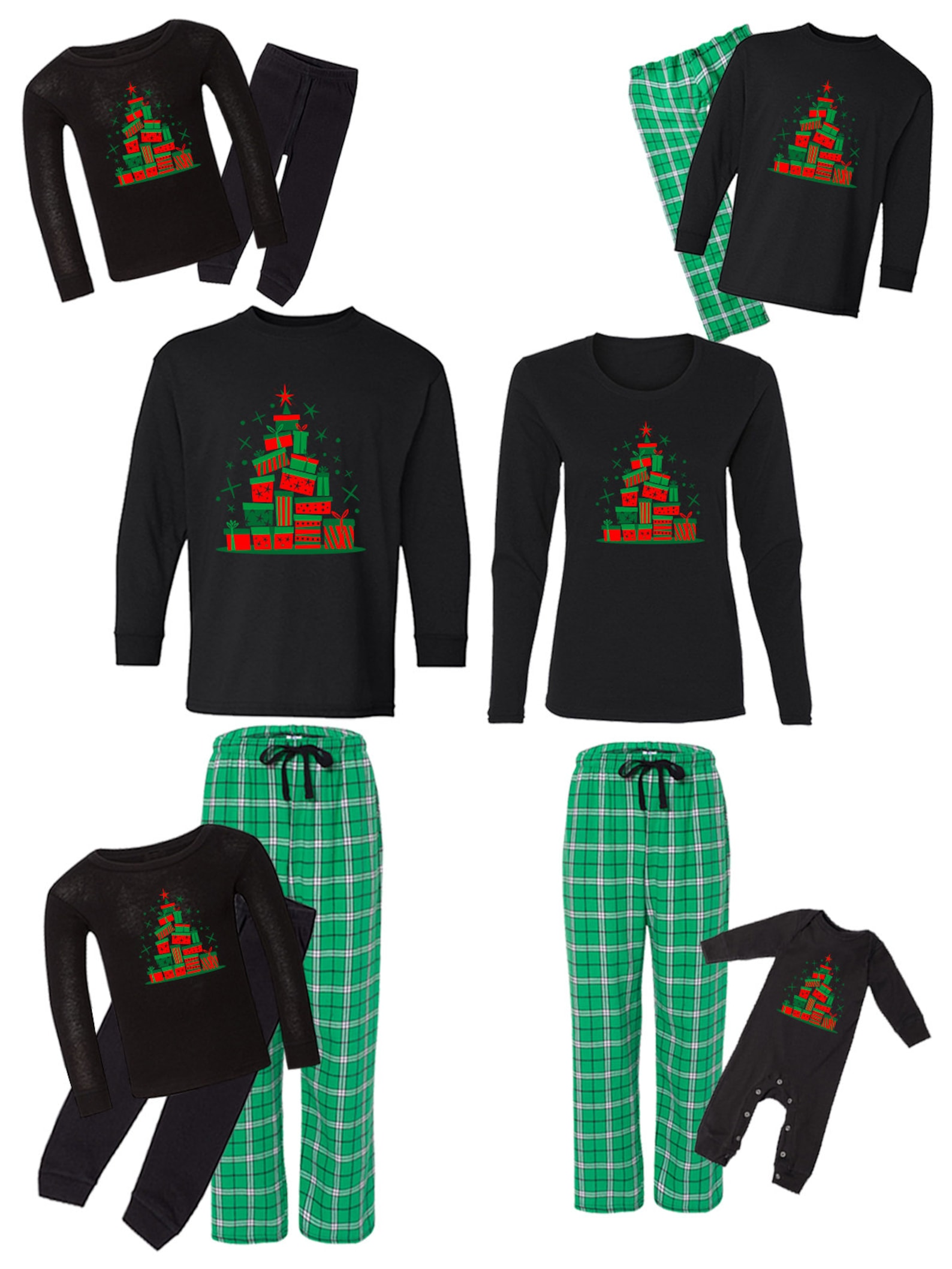 Christmas Gifts Family Pajamas