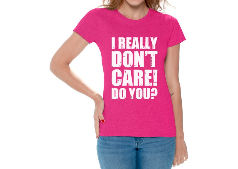 7074cf657 I Really Don't Care Do You Tshirt. Trump Shirts for Women. | Etsy