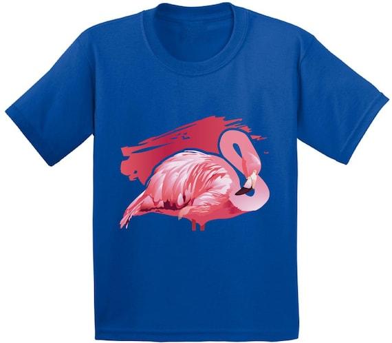 Flamingo Youth Shirt. Pink Flamingo Shirt for Kids. Flamingo Gifts.