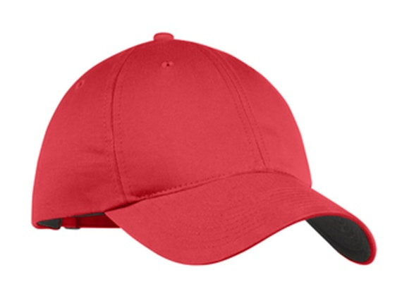d029fe16d9a Custom Embroidered Nike Unstructured Twill Cap