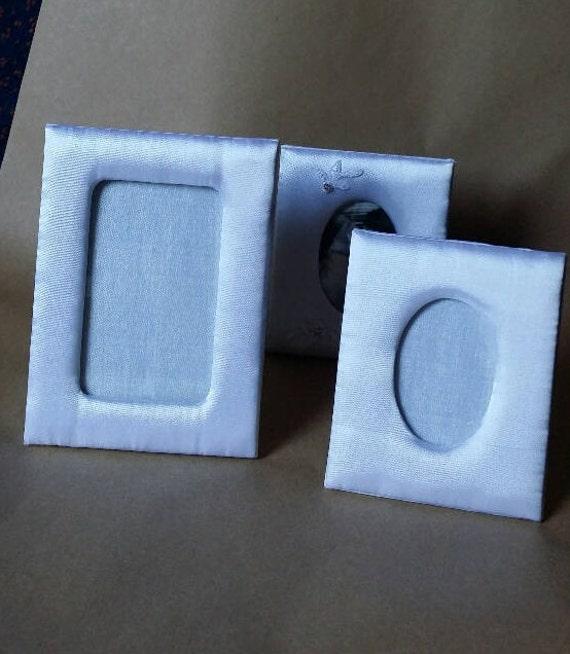 12 White Satin Frames Craft Frame First Communion Etsy