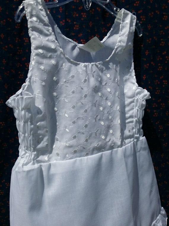 # 4 Custom Handmade Boutique White Petticoat-Slip sz 12 mo-8Y