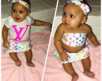 Louis Vuitton Baby Etsy