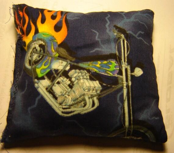 Hachoir avec flammes colophane sac