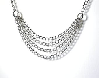 Necklace silver chain