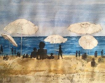 Barceloneta - on the beach