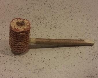 Corn cob pipe