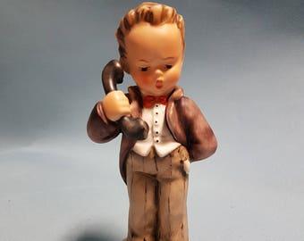"Hummel  ""Hello"" Figurine, TMK #5, Hummel #124/1"