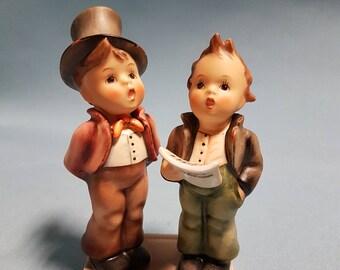 Hummel Duet Figurine, TMK #5, Hummel #130