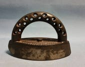 Antique Small Sad Iron, Star Polisher by Enterprise Manufacturing Company, circa 1800s