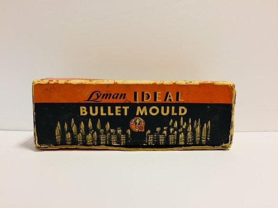 Vintage Lyman Ideal Bullet Mould Box, Lyman Bullet Mold Box Only, Vintage  Advertising, Military