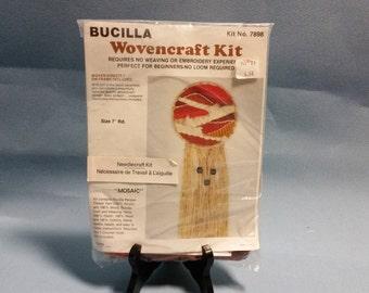 Bucilla Wovencraft Kit, Mosaic Pattern