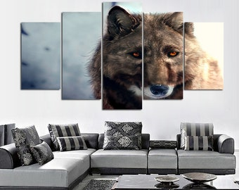 7dc9668453e Wolf Painting