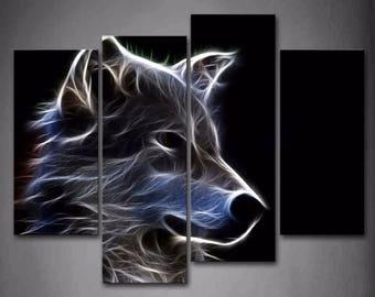13fd5e6aafe Wolf Wall Art