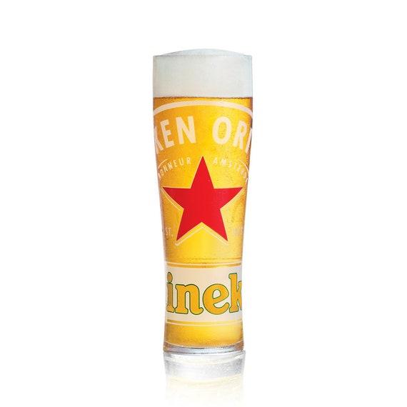 Beer Glass Heineken Half Pint Personalised Engraved Your Name // Message