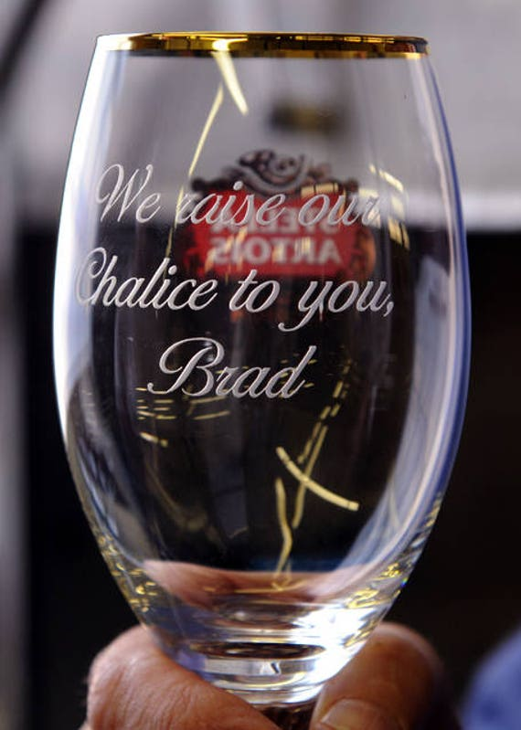 PERSONALISED ENGRAVED LATEST BECKS VIER GLASS CHRISTMAS BIRTHDAY STAG GIFT