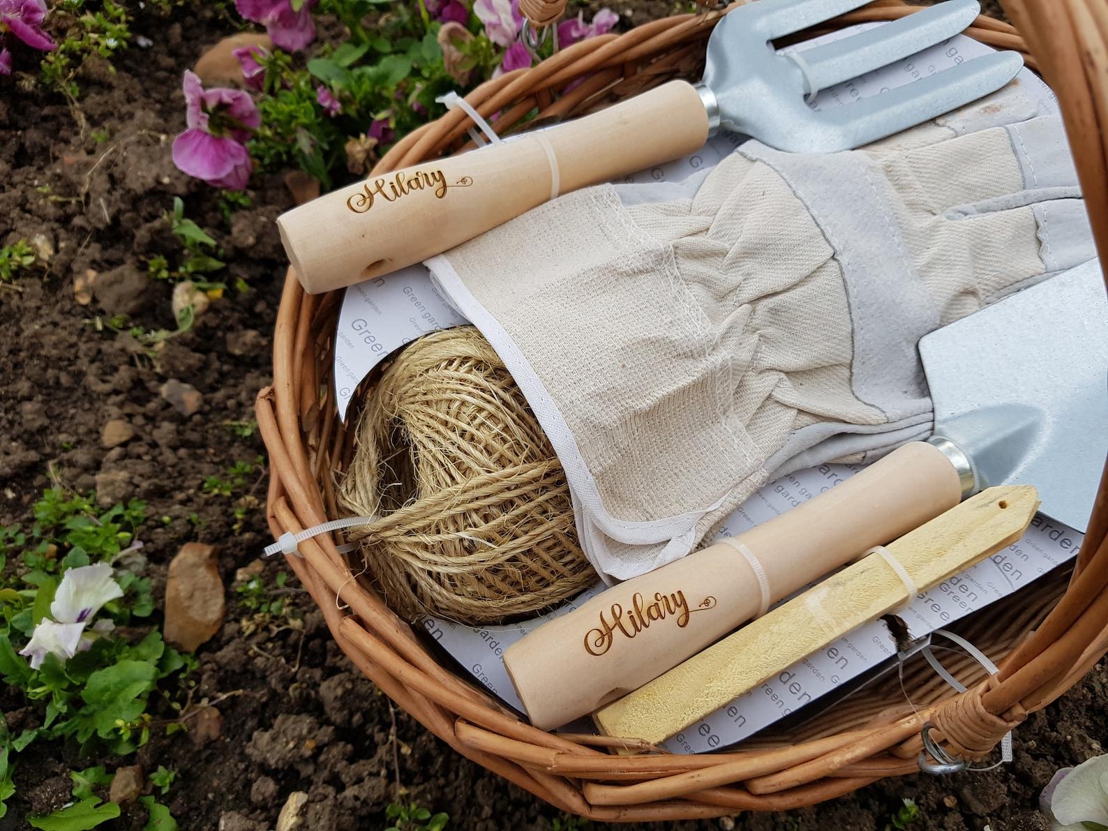 Personalised Garden Tool Basket